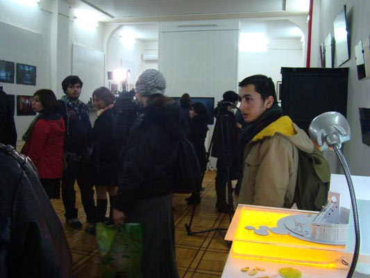 Student Competition for participation in the PQ11 Georgian exhibition of the Student Section, Tbilisi, January 2011