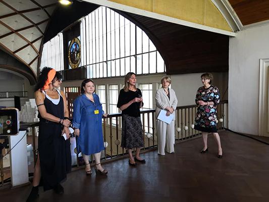 Georgian National pavilion at PQ19 - Presentation