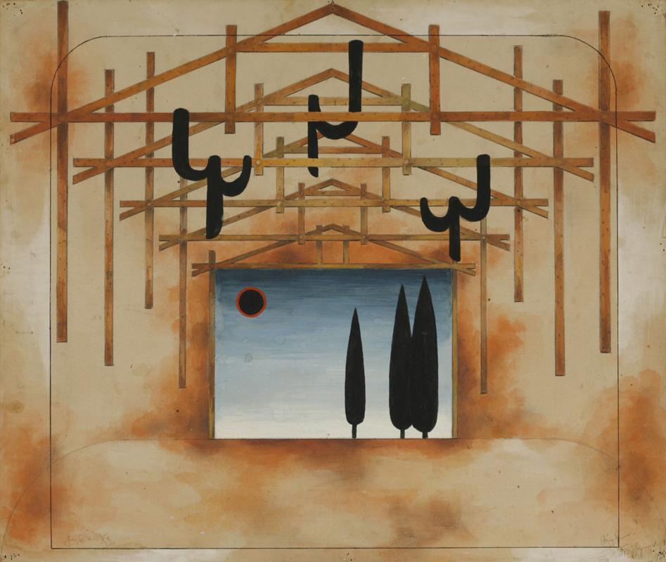"""G. Gunia - Euripides\'s """"Medea"""", 1984-1985 - Poti V. Gunia State Academic Theater"""