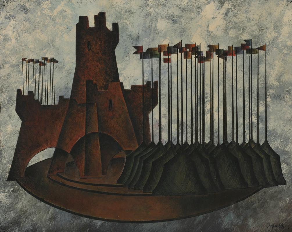 "G. Gunia - W. Shakespeare ""Richard III"", 1967 (not performed) - K. Marjanishvili State Academic Theater"
