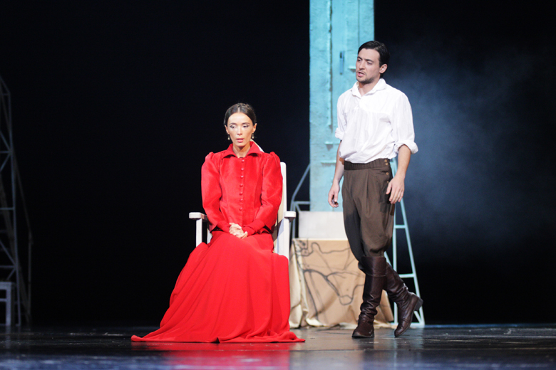 Eka Sologashvili H. Von Kleist - Prince Homburg - Rustaveli National theatre