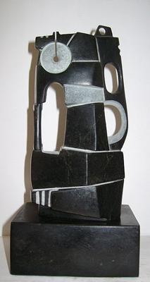 Lasha Khidasheli King-serpentine stone70x30x20