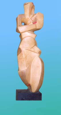 Lasha Khidasheli Mask-sandstone