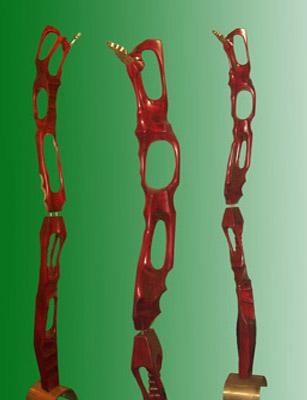 Lasha Khidasheli Spirit-red wood