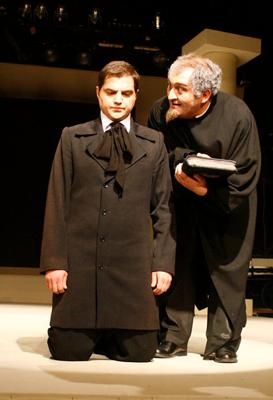 Beqar Jumutia as Laertes - W. Shakespeare Hamlet