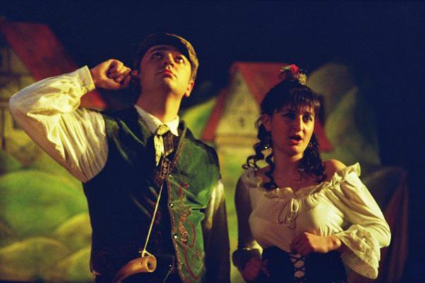 David Gogolashvili as Bastien-W. A. Mozart Bastien and Bastienne