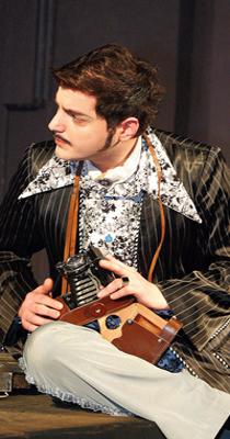 Beqar Jumutia as Yasha-A. Chekhov The Cherry Orchard