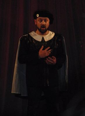 David Gogolashvili as Tamino-W. A. Mozart The Magic Flute