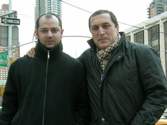 David Gogolashvili and Paata Burchuladze
