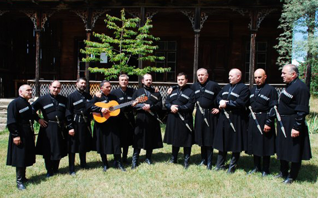 David Gogolashvili with Ensemble Tbilisi