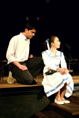 Beqar Jumutia as Giorgi - T. Wilder Our Town